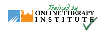 Trained by Online Therapy Institute Logo